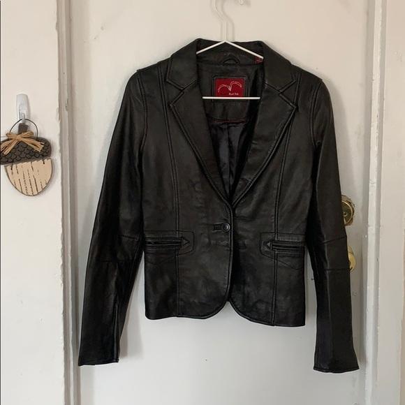 Levi's Jackets & Blazers - Levi's red tab leather blazer